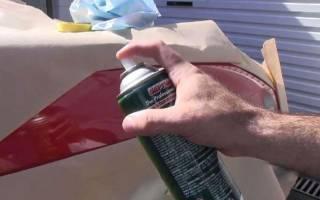 Как подкрасить сколы на машине самому баллончиком