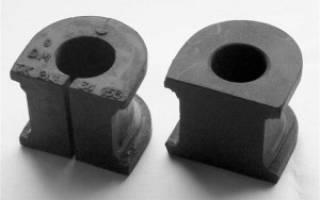 Как правильно менять втулки стабилизатора