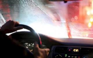 Как устранить запотевание стёкол в машине