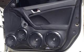 Как правильно шумить двери авто