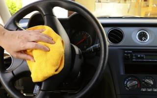 Как отмыть пластик в машине