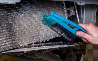 Как почистить решетку радиатора