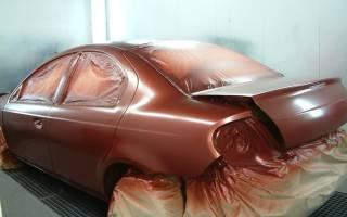 Какой краской красят автомобили на заводе