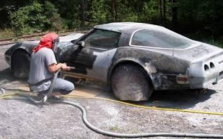 Как удалить лак с автомобиля