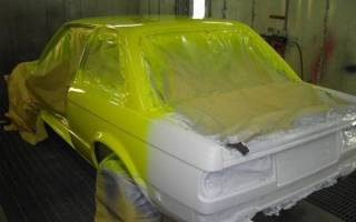 Когда лучше красить машину зимой или летом