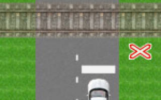 Какие знаки устанавливают непосредственно перед железнодорожным переездом