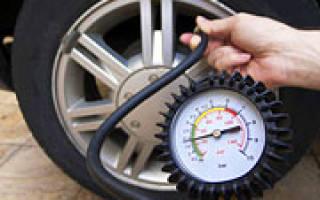 Какое оптимальное давление в шинах автомобиля