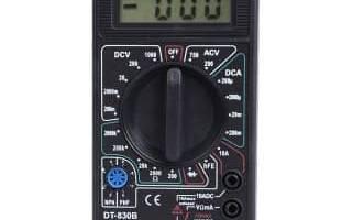 Как проверить конденсатор генератора мультиметром