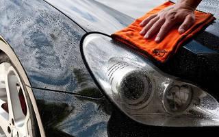 Как правильно мыть машину воском