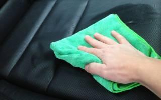 Как чистить кожаный салон автомобиля