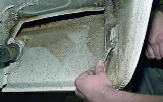 Как установить бампер на ваз 2107