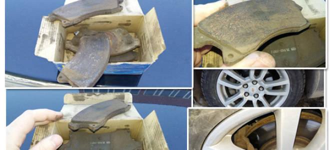Признаки износа задних тормозных колодок