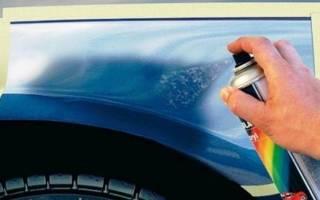 Как подобрать краску в баллончике для авто