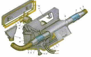 Как снять радиатор передней печки уаз буханка