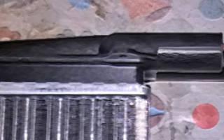 Как поменять радиатор печки на калине видео