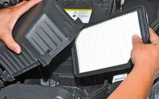Как чистить воздушный фильтр