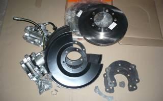 Как установить дисковые тормоза на уаз