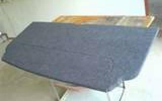 Как сделать акустическую полку ваз 2109