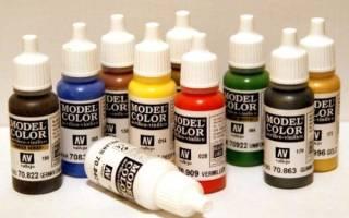 Какие краски можно использовать для аэрографа