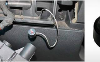 Как отключить автосигнализацию без брелка видео
