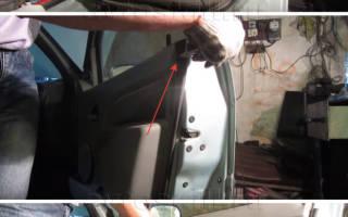 Как снять обшивку двери рено логан 2007