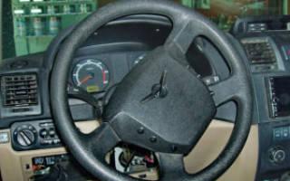 Механизм рулевого управления уаз патриот