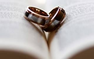 Какие кольца на венчание нужны