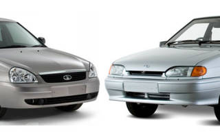Какая машина лучше четырка или приора